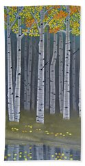 Autumn Embers II Beach Towel