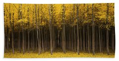 Autumn Fantasy Beach Towel by Bjorn Burton
