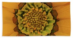 Autumn Flower Beach Towel