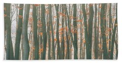 Autumn Forest Beach Sheet