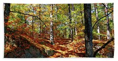 Autumn Forest Killarney Beach Towel