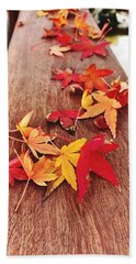 Autumn Gathering  Beach Sheet