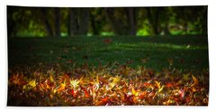 Autumn Glow Beach Sheet