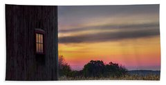 Beach Towel featuring the photograph Autumn Glow Square by Bill Wakeley