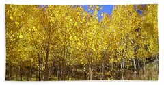 Autumn Gold Beach Sheet