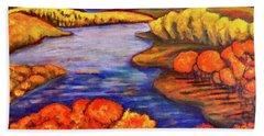 Autumn Hues Beach Towel