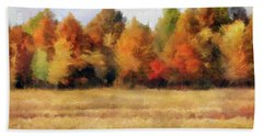 Autumn Impression 1 Beach Sheet
