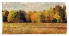 Autumn Impression 2 Beach Sheet