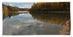 Autumn In Alaska Beach Towel