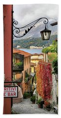 Autumn In Bellagio Beach Towel