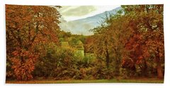 Beach Sheet featuring the photograph Autumn In Chesham by Anne Kotan