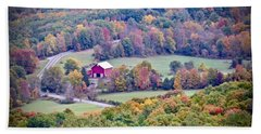 Autumn View, Mohonk Preserve Beach Towel