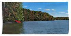 Autumn In Muskoka Beach Towel