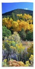 Autumn In The Canyon Beach Towel