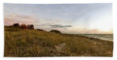 Beach Towel featuring the photograph Autumn In The Dunes by Michelle Calkins