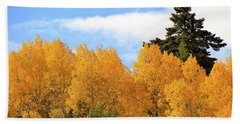 Autumn In The Owyhee Mountains Beach Towel