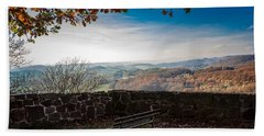 Autumn In The Southern Harz Beach Towel
