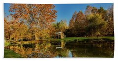 Autumn In West Virginia Beach Towel by L O C