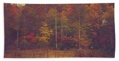 Autumn In West Virginia Beach Towel