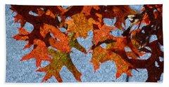 Autumn Leaves 20 Beach Towel