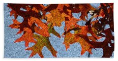 Autumn Leaves 20 Beach Sheet