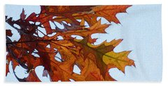 Autumn Leaves 21 Beach Towel