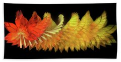 Autumn Leaves - Composition 2.2 Beach Towel