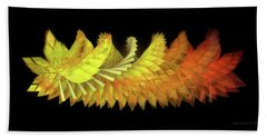 Autumn Leaves - Composition 2.3 Beach Towel