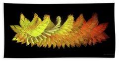 Autumn Leaves - Composition 2.3 Beach Towel