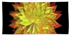 Autumn Leaves - Composition 4 Beach Towel