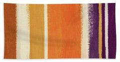 Autumn Lines- Art By Linda Woods Beach Towel