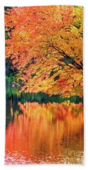 Autumn Magic Beach Sheet