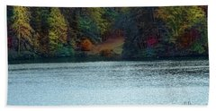 Beach Towel featuring the photograph Autumn by Melissa Messick