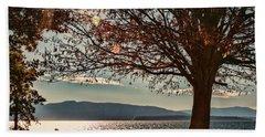 Autumn Moment Beach Sheet