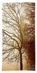 Autumn Morning Beach Sheet