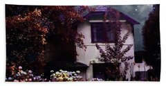 Autumn Night In The Country Beach Towel by RC deWinter