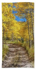 Autumn On Medano Pass Beach Towel