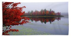 Autumn On The Bellamy Beach Sheet