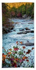 Autumn On Wilson Creek Beach Towel