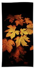 Autumn Photo Beach Sheet