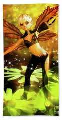 Autumn Pixie Beach Towel