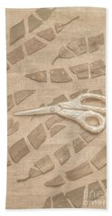Autumn Refraction Beach Towel
