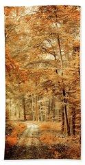Autumn Secret Beach Sheet