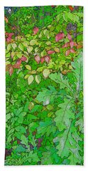 Autumn Splender Beach Towel