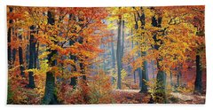 Autumn Splendour Beach Towel