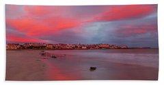 Beach Sheet featuring the photograph Autumn Sunrise by Roy McPeak