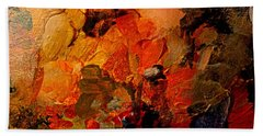 Autumn Tapestry Beach Sheet