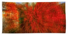 Beach Towel featuring the photograph Autumn Time by Vladimir Kholostykh