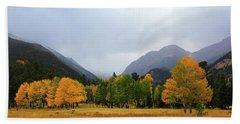 Autumn Valley Beach Towel