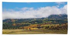 Autumn Veil Beach Sheet